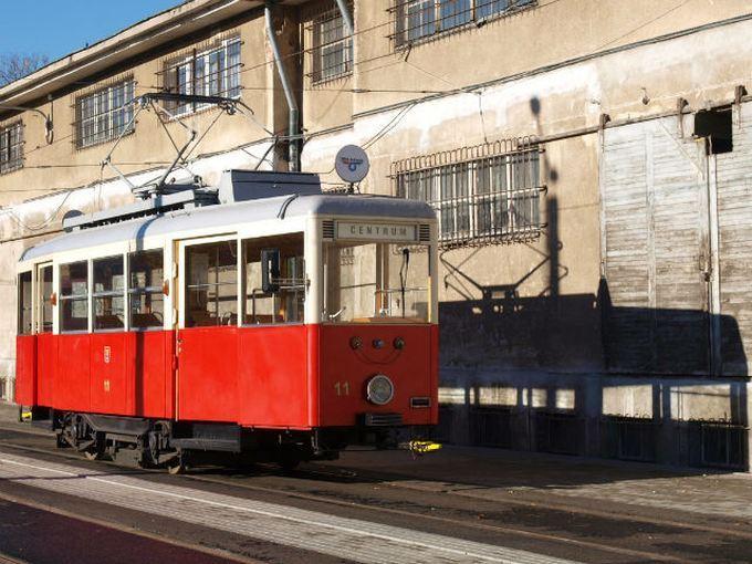 Zabytkowym tramwajem na akcję krwiodawstwa
