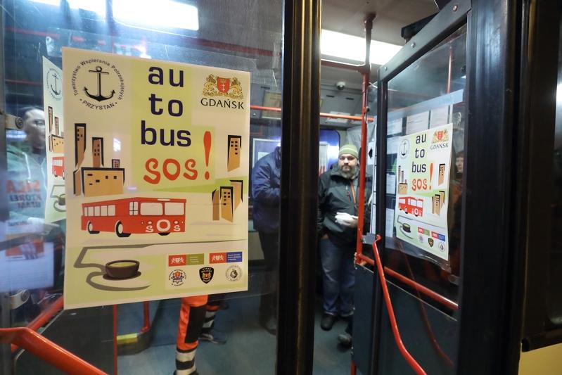 Gdańsk. Autobus SOS 2019. Grzegorz Mehring / www.gdansk.p