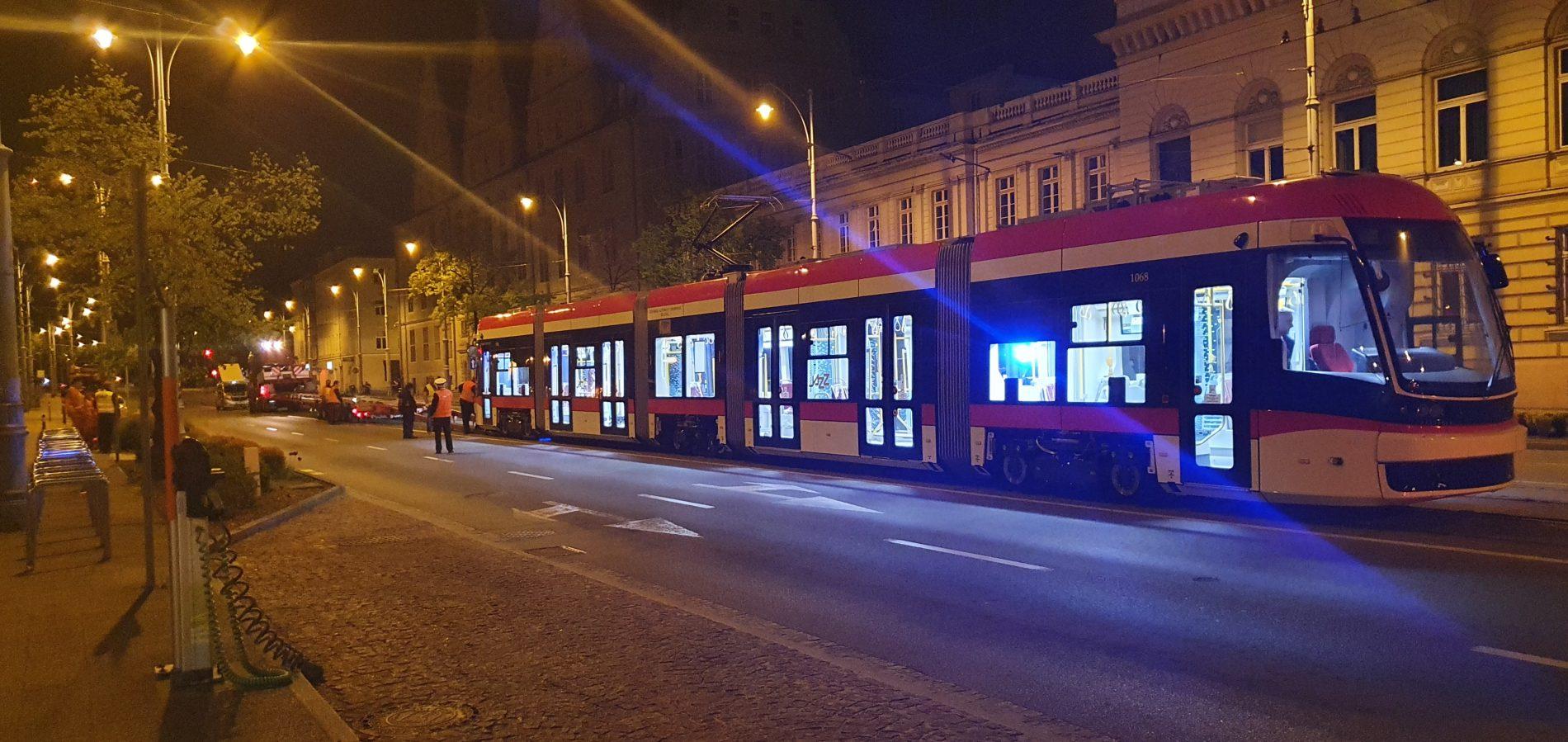 Dostawa nowego tramwaju Pesa Jazz Duo